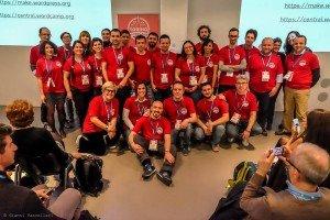 volontari al wordcamp torino